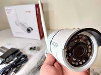 [NOVO] Câmera Vigilância WIFI Exterior ZOSI • 1080P • APP Deteção Mov.