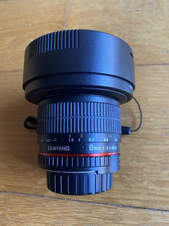 Samyang 8mm 3.5 UMC CS II fisheye - fit Nikon