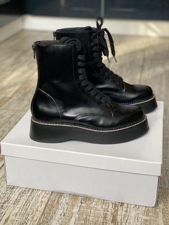 Ботинки/ сапоги Steve Madden ( в стиле Dr.Martens) 38 размер