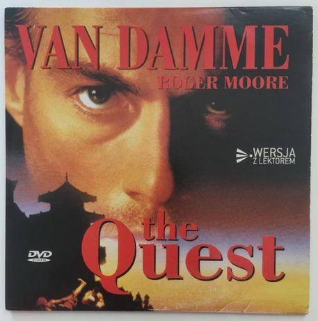 "DVD ""The Quest"" J.C. Van Damme sztuki walki UNIKAT"