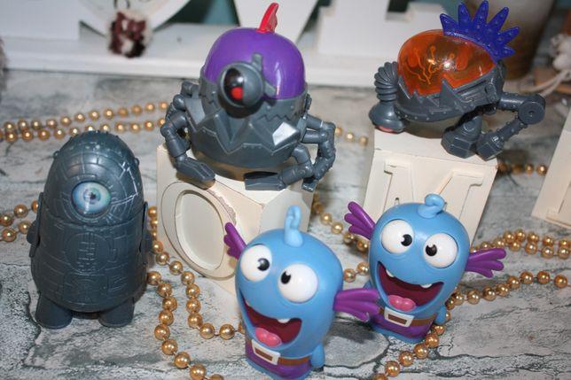 Игрушки фирменные из мультфильмов в отличном состоянии