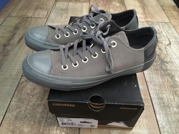 Кеды кожаные Converse Конверс оригинал, на стопу 23,5 см