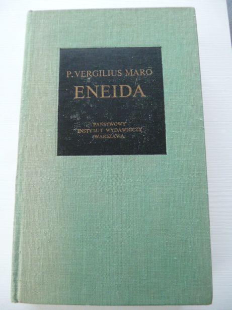 Eneida - PUBLIUS Vergilius Maro Bibliotheca Mundi Nowa - 1987 r.