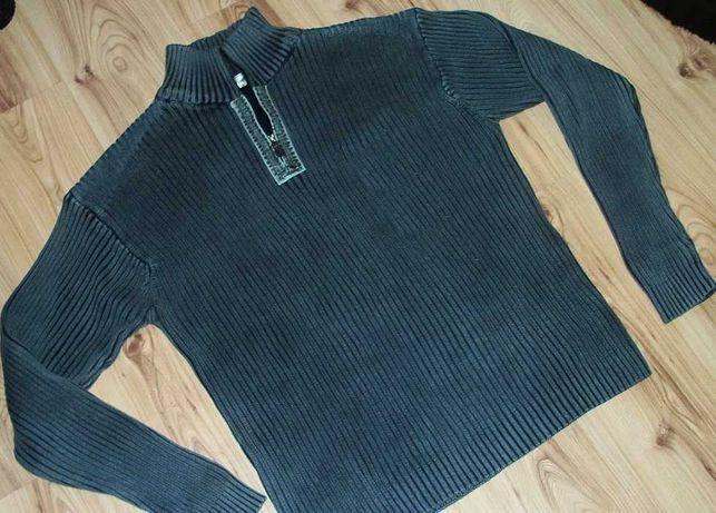 Sweter męski ciepły marki Wherenear Finery  r XXL
