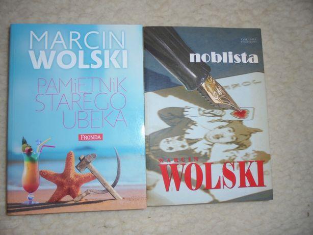 Marcin Wolski 2 książki Pamiętnik st. ubeka, Noblista, nowe, za obie