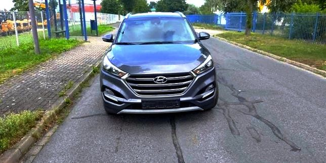 Hyundai Tucson bez kolizyjny , bogato wyposażony