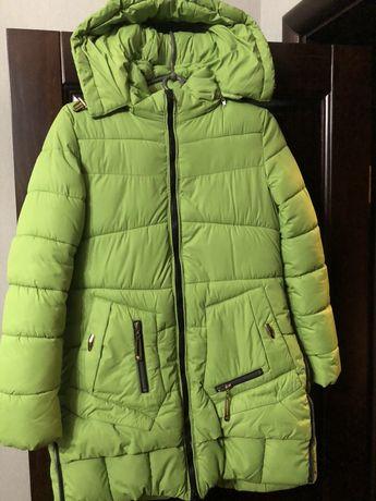 Продам детское пальто зимнее