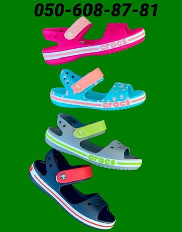 Детские сандали крокс крокбенд. Crocs Crocband sandal. Кроксы сандали