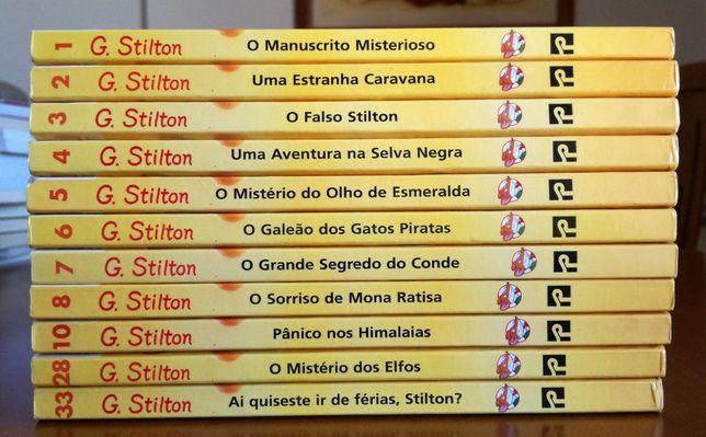 Livros Geronimo Stilton