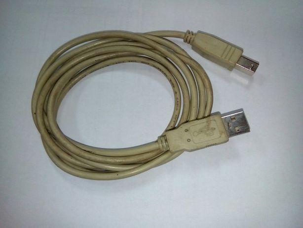 Кабель шнур для принтера удлинитель USB А/В 1,5 м
