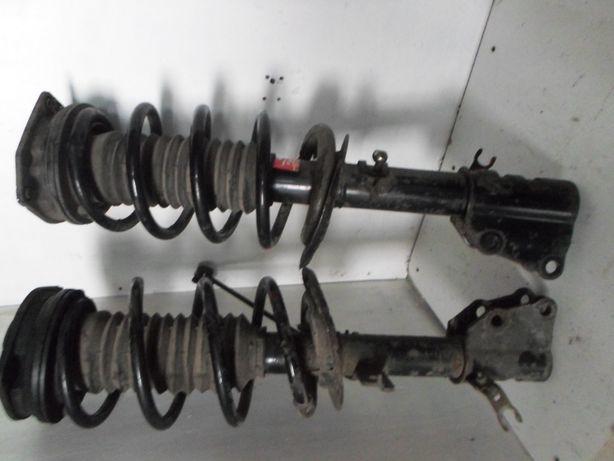 Стойка передняя задняя Амортизатор Рено Кенго Renault Kangoo 2 пружины