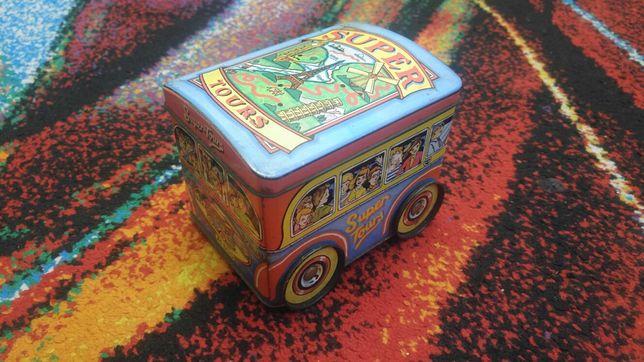Metalowe pudełko super tours vintage 1983 rok