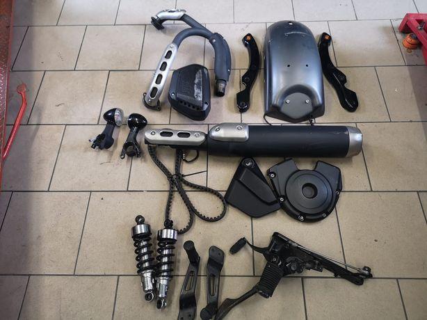 Yamaha bolt XV 950 wydech kolektor błotnik wahacz pas sety