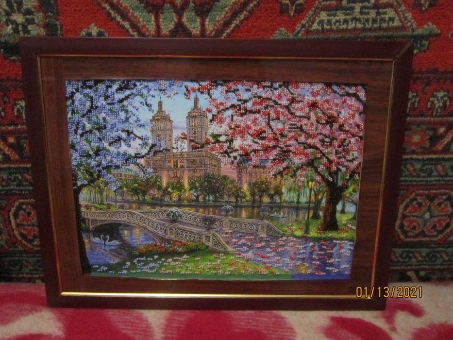 Картина вышита чешским бисером Харьков - изображение 1