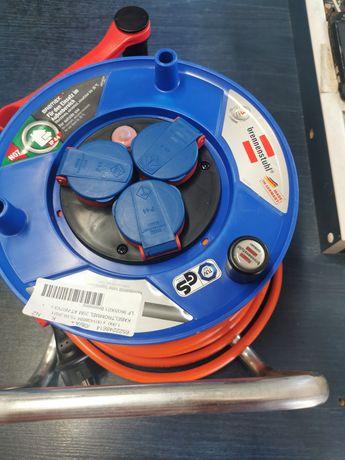 Bęben kablowy 25,00 m pomarańczowa wtyczka ochronna