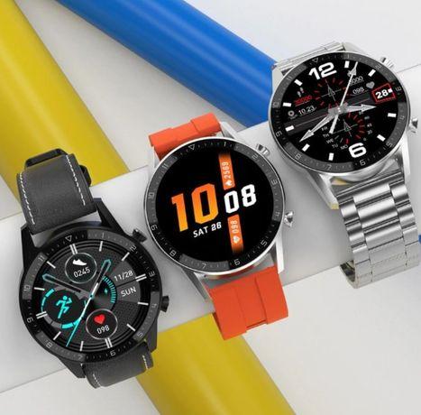 Smartwatch model 2021 z funkcją rozmów sms kroki kalorie promocja