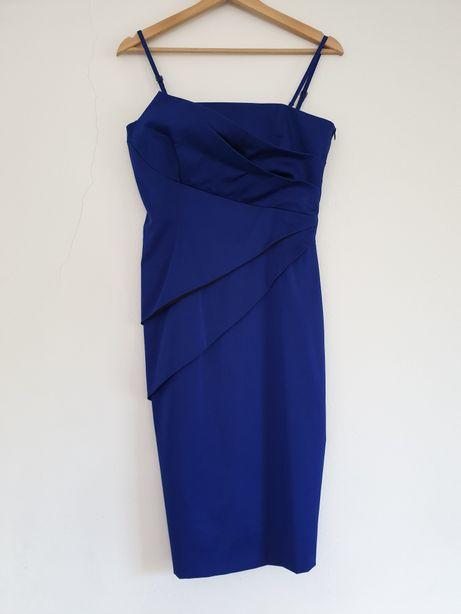 Piękna sukienka koktajlowa firmy Solar, r. 36, świetna na wesele