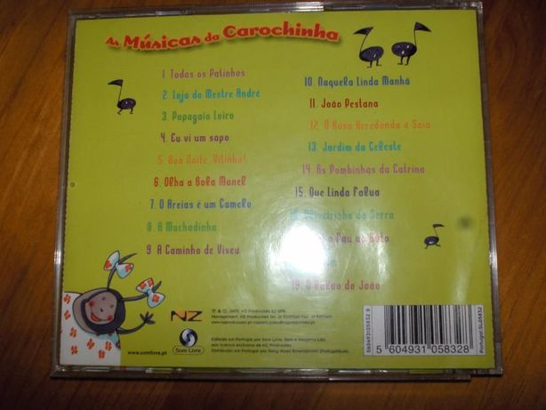 CD Musicas Infantis