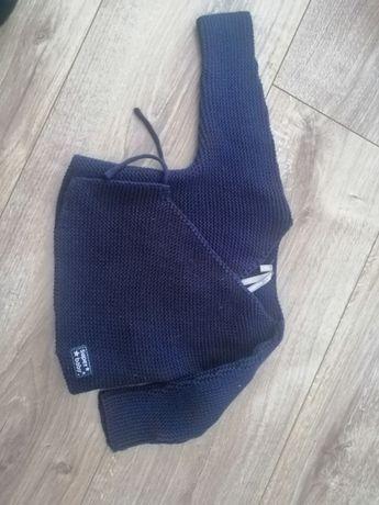 Sweterek kopertowy dla chłopca