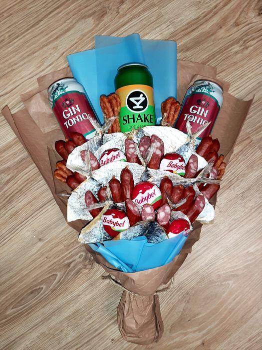 Мужские съедобные букеты/ Подарки для мужчин Киев - изображение 1
