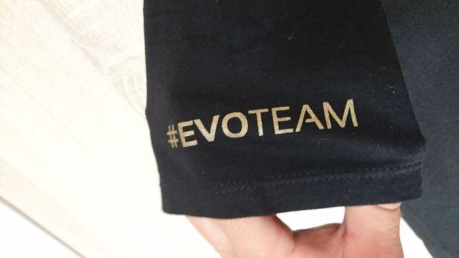 Evoteam T-shirt L spora zloty stylowy napis