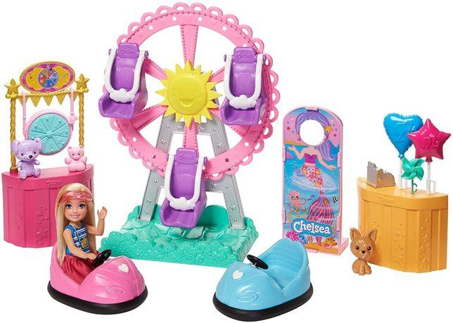 Кукла Барби Челси и колесо обозрения. Игровой набор.