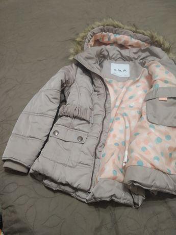 Курточка зимова на дівчинку