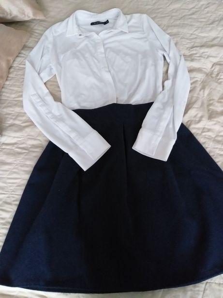 Spodnica rozkloszowana r.38