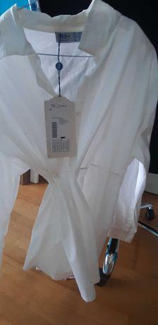 Tunica branca marca MDM - Nova a Estrear tamanho M