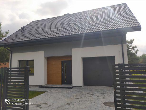 Dom w Łosiu ogrzewany pompą ciepła