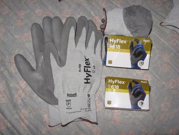 Перчатки Hy Flex 9 и 10 размер большой