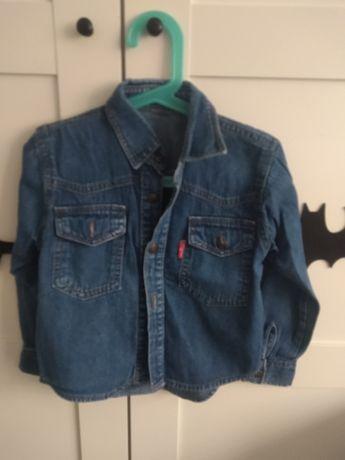 Koszula jeansowa chłopięca 104
