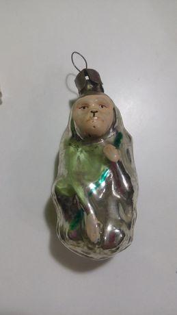 Новогодняя игрушка, ёлочная игрушка обезьяна,дореволюционные