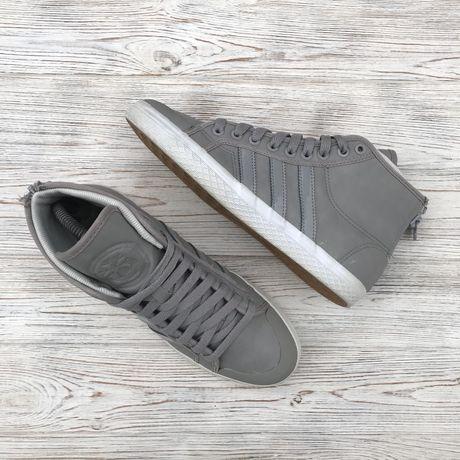 Кожаные зимние кроссовки Adidas Оригинал! 24.5 см размер 38