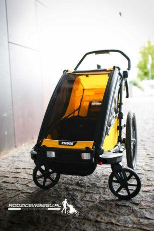 Potestowy wózek biegowy przyczepka rowerowa Thule Chariot Sport 1