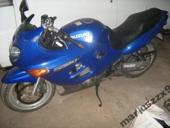 Suzuki gsxf jajko silnik