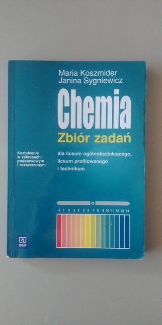 Chemia zbiór zadań liceum podstawa rozszerzenie Koszmider Sygniewicz