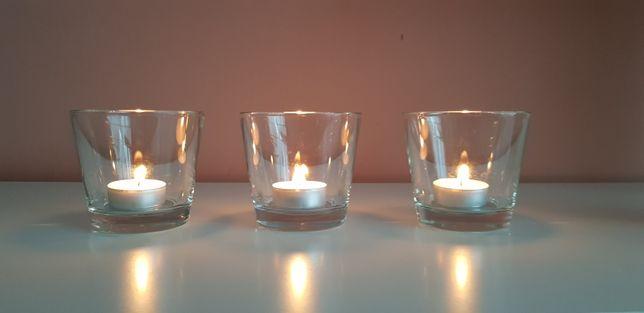 Osłonki do świeczek 3szt+2długopisy GRATIS