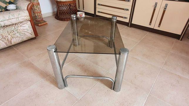 Mesa de centro metal / vidro