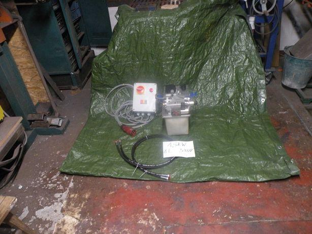 agregat hydrauliczny prasa pompa siłownik łuparka 1,5 kw