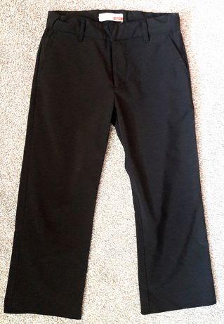 Spodnie eleganckie materiałowe 128 cm