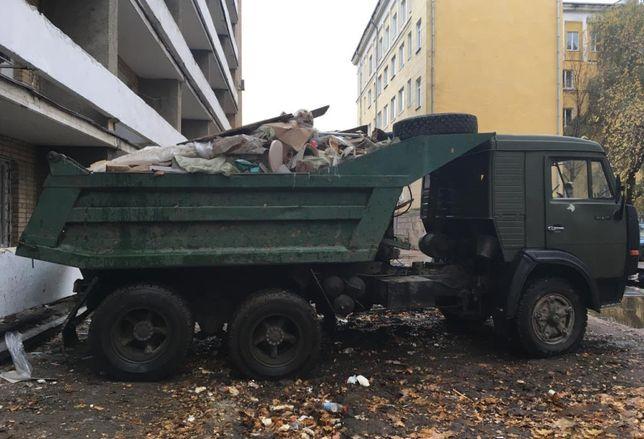 Погрузка Вывоз любого мусора, хлама. Все р-ны города.