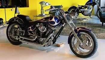 Harley davidson costum evo 1340