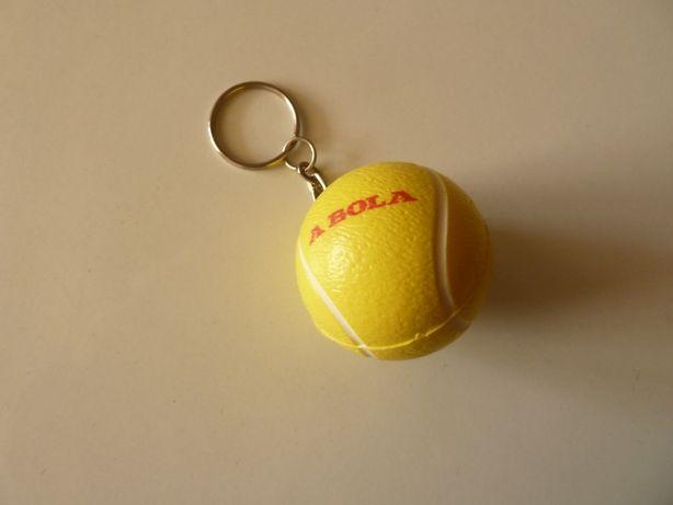 porta chaves bola de ténis