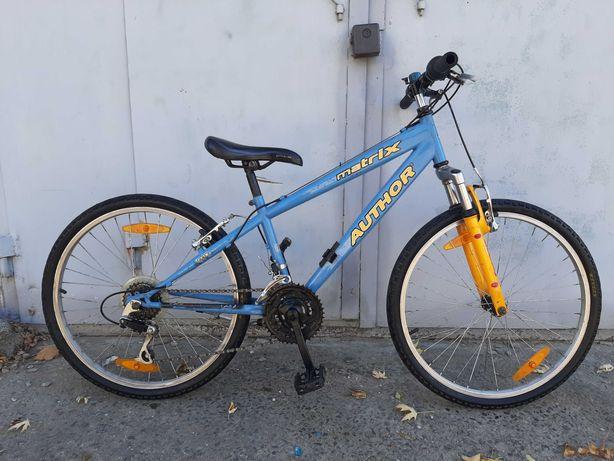 Велосипед 24 AUTHOR,18 пер,Шимано,зріст 125-160cv,стан нового.Німеч.