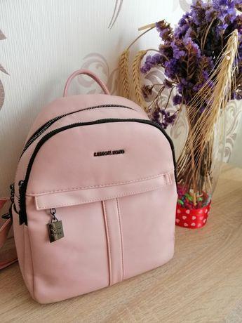Рюкзак рожевий.
