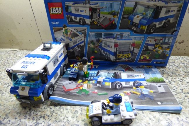 LEGO CITY 60142 jak nowe