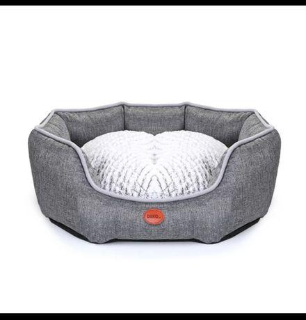 Лежак для собак котов DEKO домик, корзина 2 размера