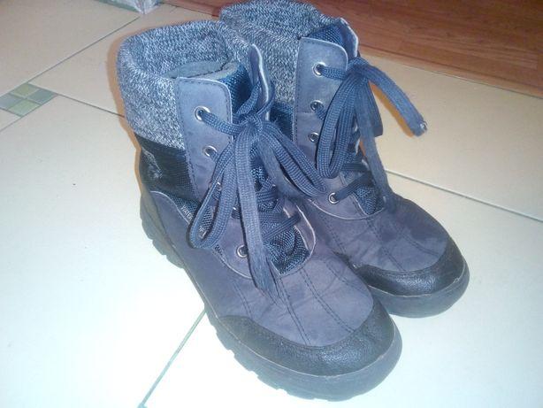 Buty zimowe r.35 chłopięce