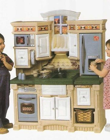 Cozinha rústica para crianças